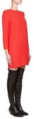 Givenchy Crepe Envers Shift Dress