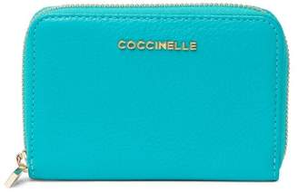 Coccinelle Leather Mini Zip Around Wallet