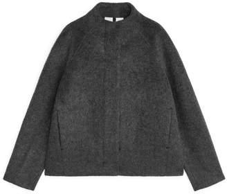 Arket Short Alpaca Blend Jacket