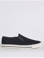 M&S Collection Suede Slip-on Shoes