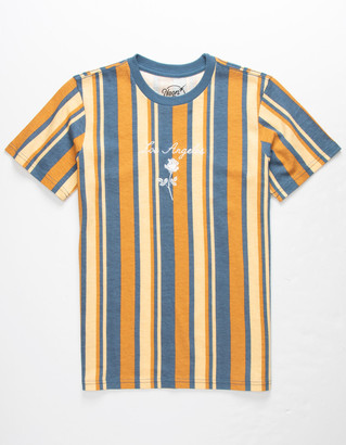 NEON RIOT Los Angeles Rose Stripe Boys T-Shirt
