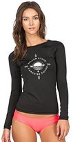 Volcom Women's Simply Solid Long Sleeve Rashguard