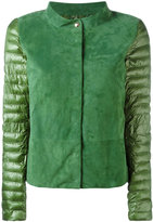 Herno puffer jacket - women - Cotton/Polyamide/Polyester/Lamb Skin - 42