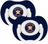 Baby Fanatic Pacifier (2 Pack) - Houston Astros