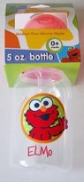 Sesame Street Beginnings BPA Free Medium Flow Silicone Nipple 5 oz. Baby Bottle with BaBy Elmo