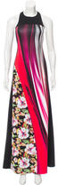 Clover Canyon Abstract Print Maxi Dress