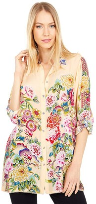 Johnny Was Nixie Blouse (Multi B) Women's Blouse