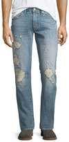 J Brand Jeans Tyler Destroyed Slim-Fit Denim Jeans, Destructed Kragg