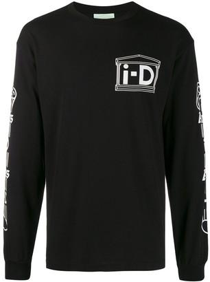 Aries x i-D printed sweatshirt