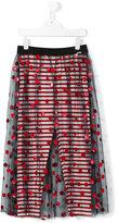 Jean Paul Gaultier tulle polka dot long skirt - kids - Polyamide/Spandex/Elastane/Viscose - 14 yrs