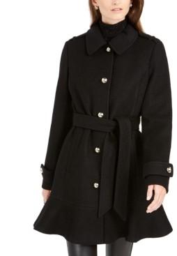 Kate Spade Skirted Belted Coat