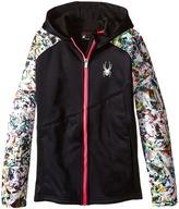 Spyder Crush Hoody Fleece Jacket (Little Kids/Big Kids)