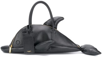 Thom Browne pebble leather dolphin bag
