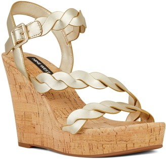 Nine West Brette Women's Wedge Sandals