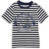 True Religion Boy's Stripe Cotton Tee - White, Size xl (18-20)