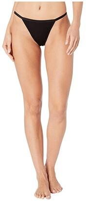 Cosabella Talco String Bikini (Black) Women's Underwear