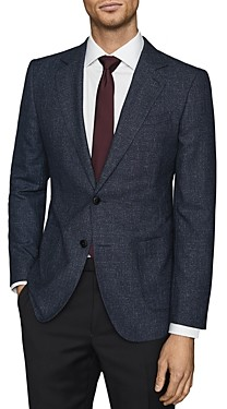 Reiss Textured Two-Button Suit Jacket