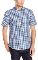 Dockers Short Sleeve Roadmap Cvc Woven Shirt
