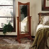 Powell Mission Oak Cheval Mirror