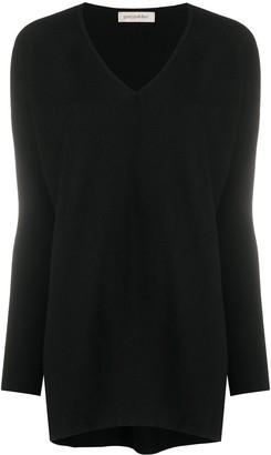 Gentry Portofino V-Neck Cashmere Knit Top