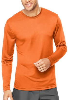 Hanes Mens CoolDri Lightweight Long Sleeve Tee