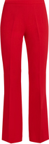 Giambattista Valli High-rise crepe cropped trousers