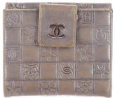 Chanel Square Quilt Compact Wallet