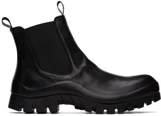 Officine Creative Black Cleantrek 1 Chelsea Boots