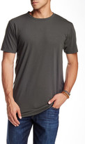 Drifter Elongated Crew Neck Shirttail Tee