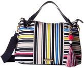 Tommy Hilfiger Adelina Stripe Convertible Satchel Satchel Handbags