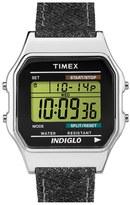 Timex 'Originals' Digital Leather Strap Watch, 34mm