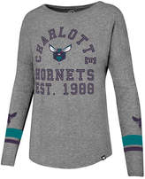 '47 Women's Charlotte Hornets Encore Long Sleeve T-Shirt