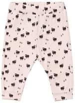 Emile et Ida Pink Sheep Print Track Pants