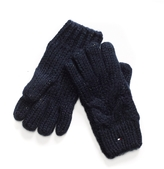 Tommy Hilfiger Cableknit Gloves
