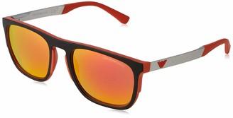 Emporio Armani Men's 0EA4114 56766Q 55 Sunglasses