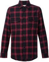 Saint Laurent checked shirt - men - Cotton/Spandex/Elastane - S