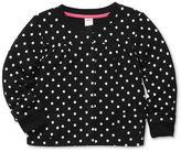 Carter's Little Kids Sweater, Little Girls Long-Sleeve Polka Dot Cardigan