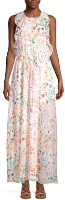 Calvin Klein Collection Floral Maxi Dress