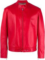 Maison Margiela biker jacket - men - Lamb Skin/Viscose - 46