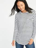 Old Navy Plush-Knit Hi-Lo Top for Women