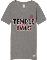 Victoria's Secret Victorias Secret Temple University Perfect V-Neck Tee