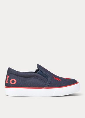 Ralph Lauren Bal Harbour Canvas Sneaker