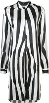 Ann Demeulemeester striped tunic dress - women - Silk/Spandex/Elastane - 40
