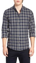 Scotch & Soda Men's Extra Trim Fit Plaid Twill Woven Shirt