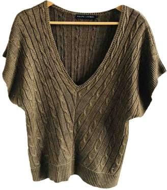 Ralph Lauren Brown Linen Knitwear for Women