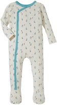 Tea Collection Little Marinaio Romper (Baby) - Chalk - 6-12
