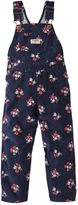 Osh Kosh Baby Girl Floral Corduroy Overalls