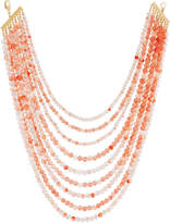 Lydell NYC Layered Multi-Strand Beaded Necklace