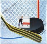 MCS MBI Sport and Hobby Postbound Album 12-Inch by 12-Inch Page , 13.2 x12.5 Album, Hockey Theme