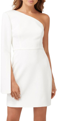 Forever New Sophia One Sleeve Mini Dress
